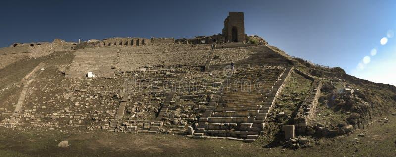 Anfiteatro de Bergama imagens de stock