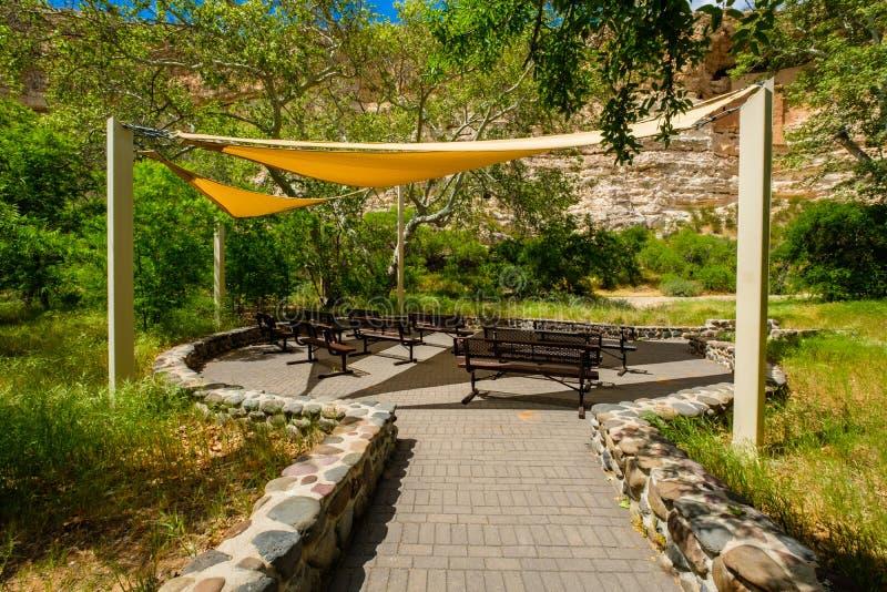 Anfiteatro do castelo de Montezuma imagem de stock royalty free