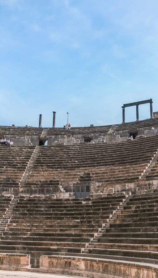 Anfiteatro romano fotografía de archivo