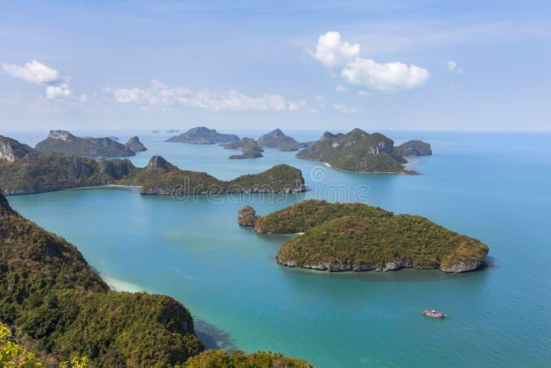 Ang皮带全国海岸公园海岛 图库摄影