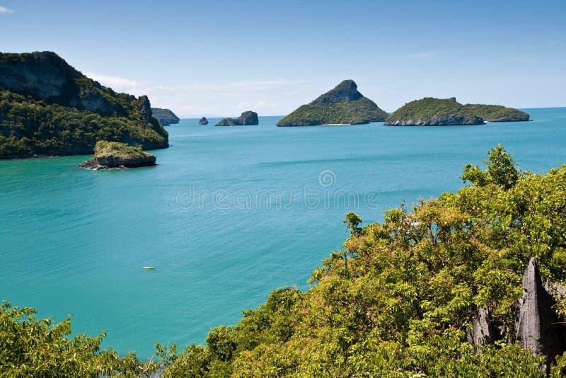 ANG-Cinghia la bella isola, Tailandia immagini stock libere da diritti
