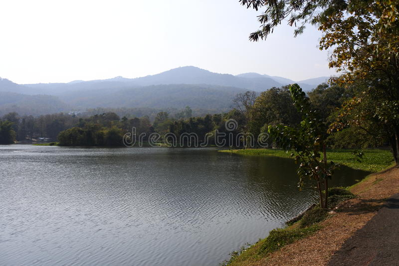 Ang Kaew Reservoir imagens de stock