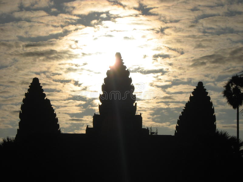 Ang Kor Wat, Cambodia royalty free stock photos