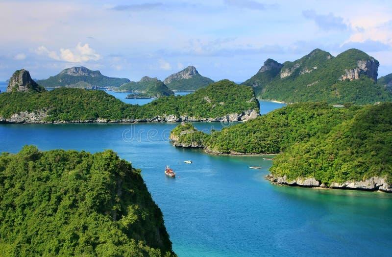Ang paska park narodowy, Tajlandia fotografia stock