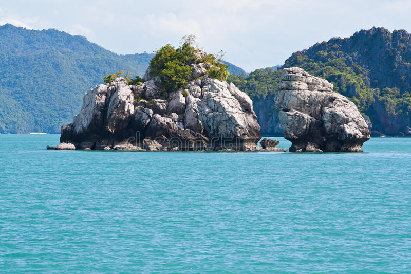 Ang-Thong Island Islet, Thailand royalty free stock photos