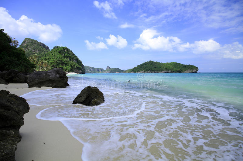Ang thong the islands in thailand royalty free stock image
