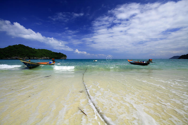 Ang thong the islands in thailand stock image