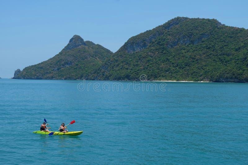 Ang Thong National Marine Park, Koh Samui, Thailand royalty-vrije stock afbeelding