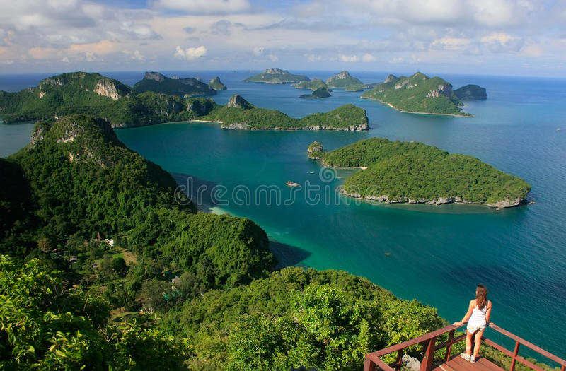 Ang Thong National Park, Thailand stock foto