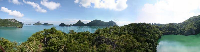 ANG-Zapfen-Marinepark - Thailand stockfotos