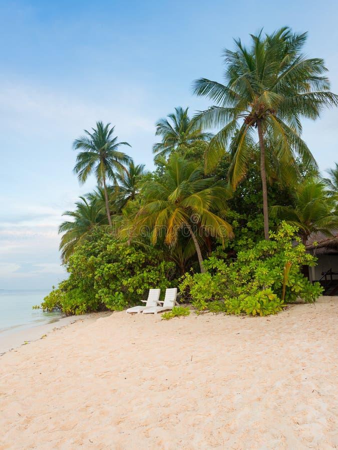Angaga, Мальдивы стоковая фотография