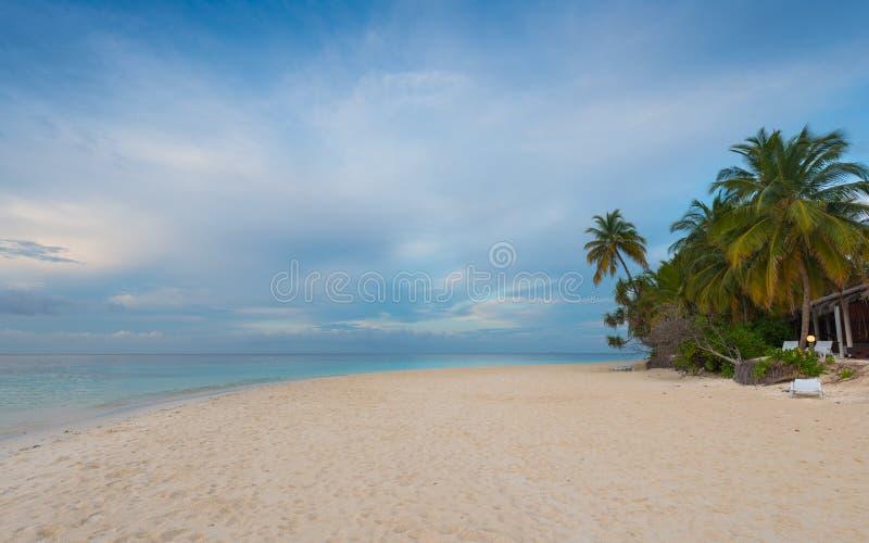 Angaga, de Maldiven stock foto