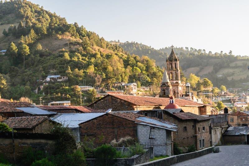 Angangueo, Michoacan images stock