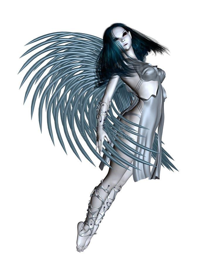 Ange étranger - 1 illustration stock