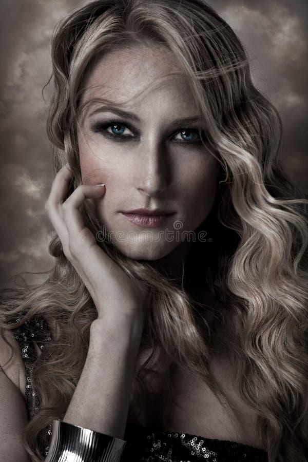 Ange Blond Image stock