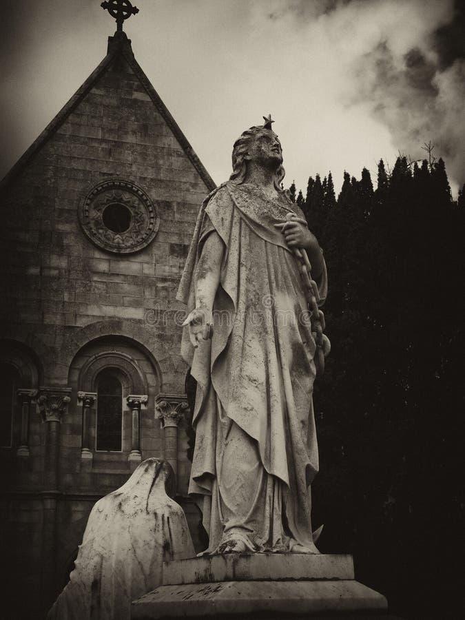 Ange d'étoile de Glasnevin photo libre de droits