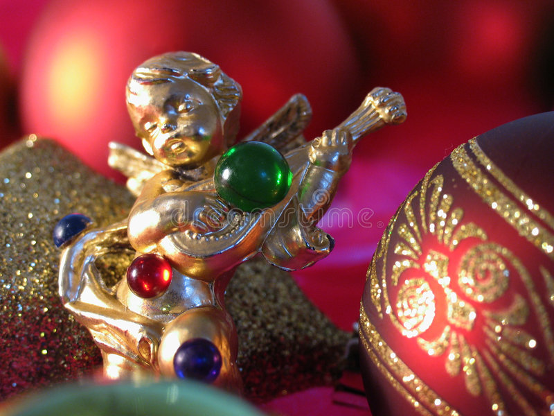 Ange de Noël photos stock