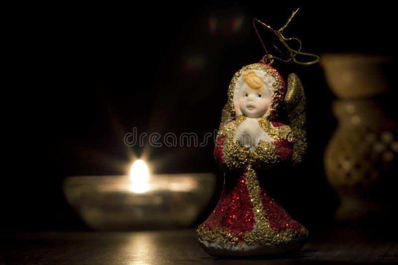Ange de Noël photo stock