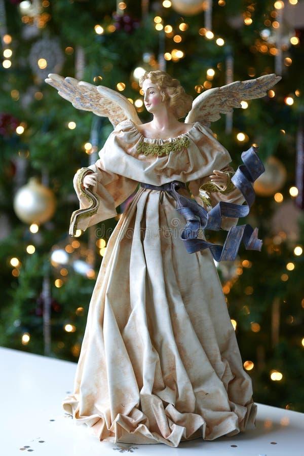 Ange de Noël de Noël d'arbre images stock