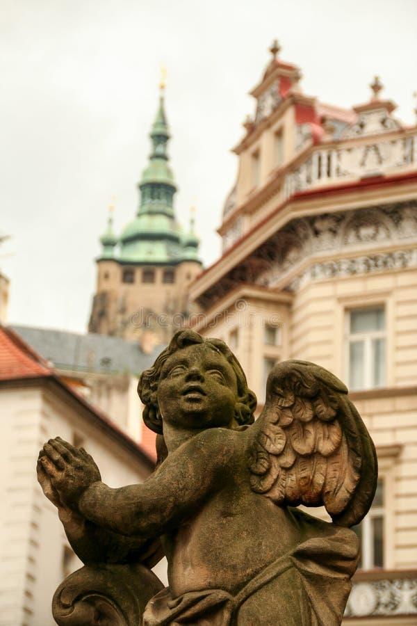 Ange de Prague images libres de droits