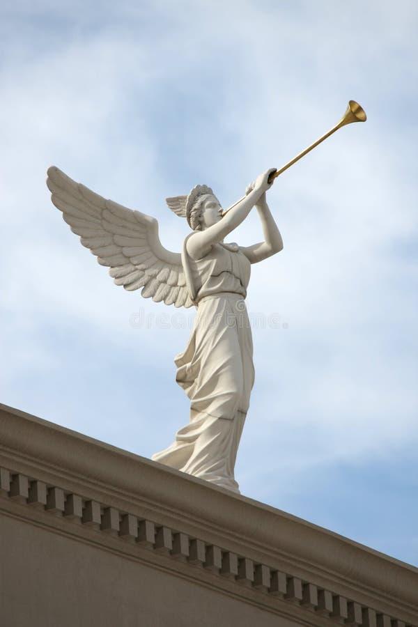 Ange de son de la trompette image libre de droits