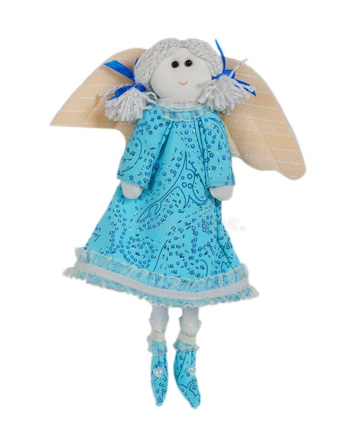 Ange de vol de jouet de vintage de Noël image stock