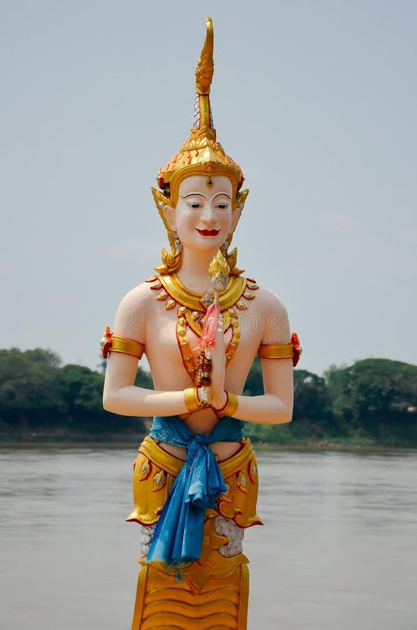 Ange en rivière de Khong photos stock
