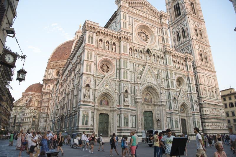 Ange sur la cathédrale Florence image libre de droits