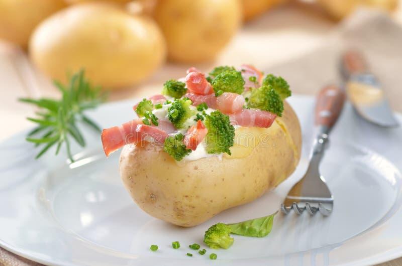 Angefüllte Kartoffel lizenzfreie stockbilder