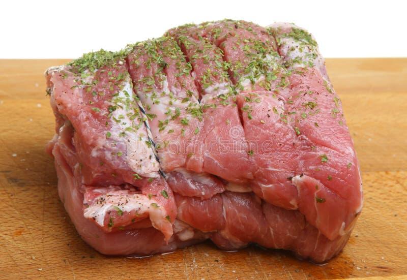 Angefüllte Lende der Schweinefleisch-Verbindung lizenzfreie stockfotos