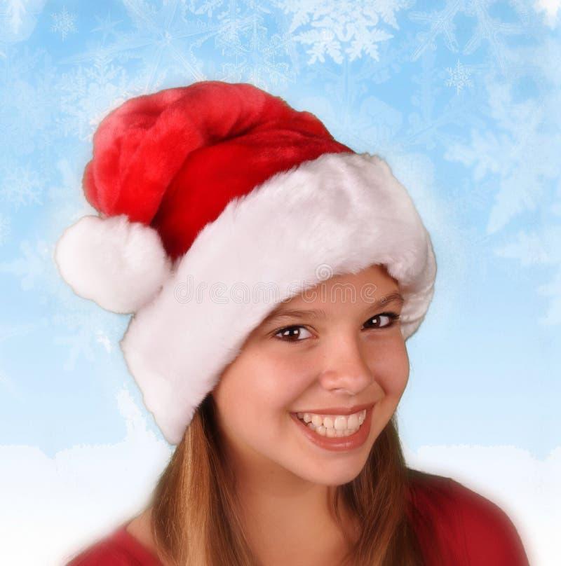 Angekleidet für Weihnachtsfeiertag stockbilder