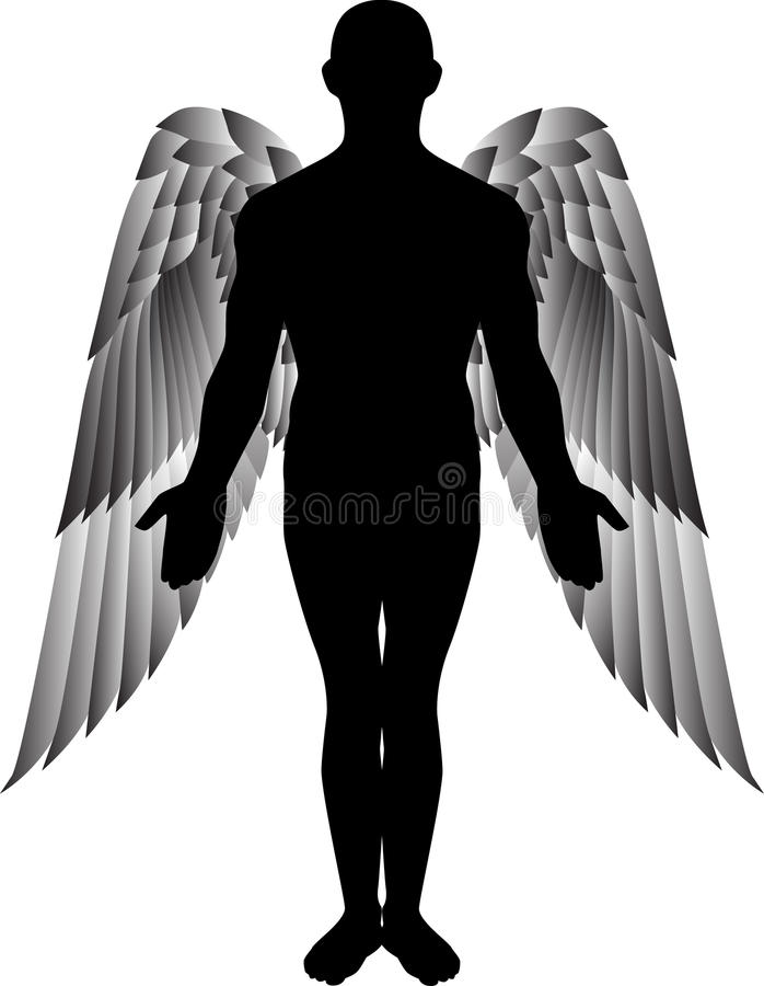 Download Angel stock vector. Illustration of paradise, friend - 17082606