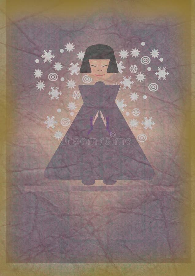 Download Angel stock illustration. Image of cardboard, japanese - 22870609