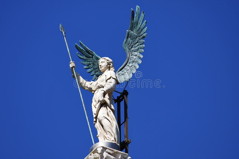 Download Angel stock image. Image of city, worth, spear, sculpture - 24647465