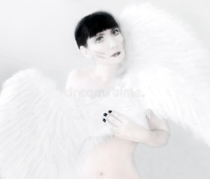 Download Angel stock photo. Image of black, magic, light, girl - 27644230