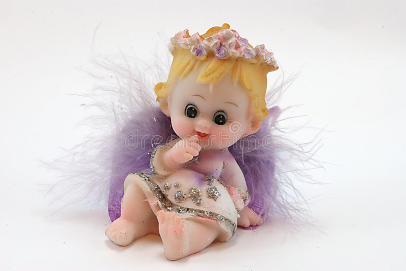 Download Angel stock image. Image of angel, statuette, swelled - 7433759