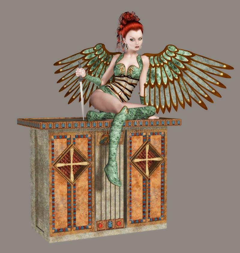 Download Angel stock illustration. Illustration of beauty, girls - 8682834