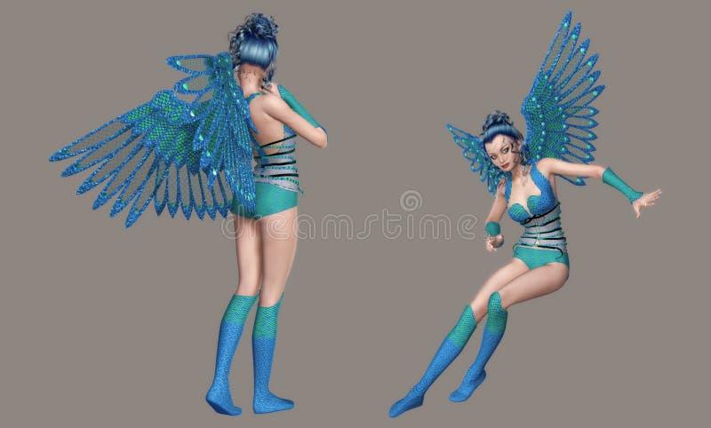 Download Angel stock illustration. Illustration of girl, gorgeous - 8711434