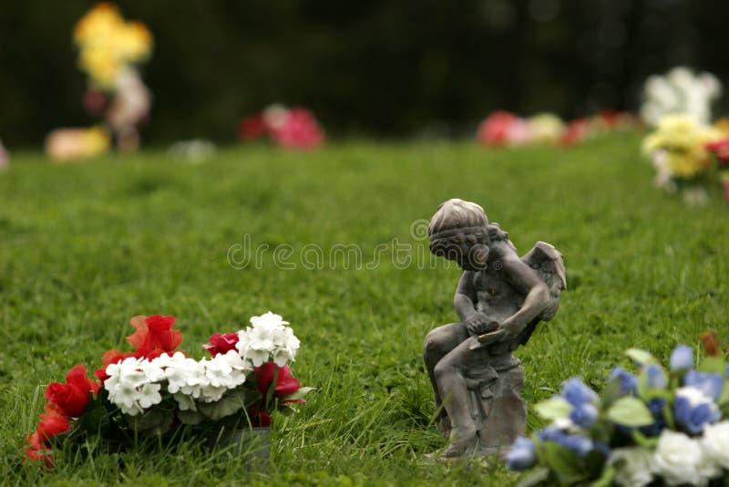 Download Angel stock photo. Image of graveyard, angle, dark, gravemarker - 91174