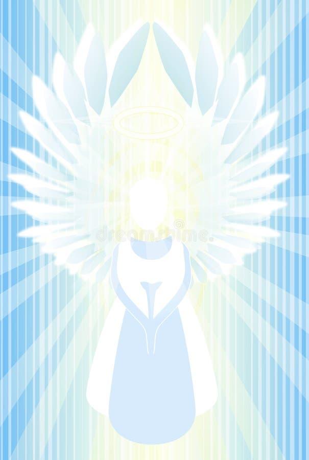 Angel Abstract Light ilustração stock