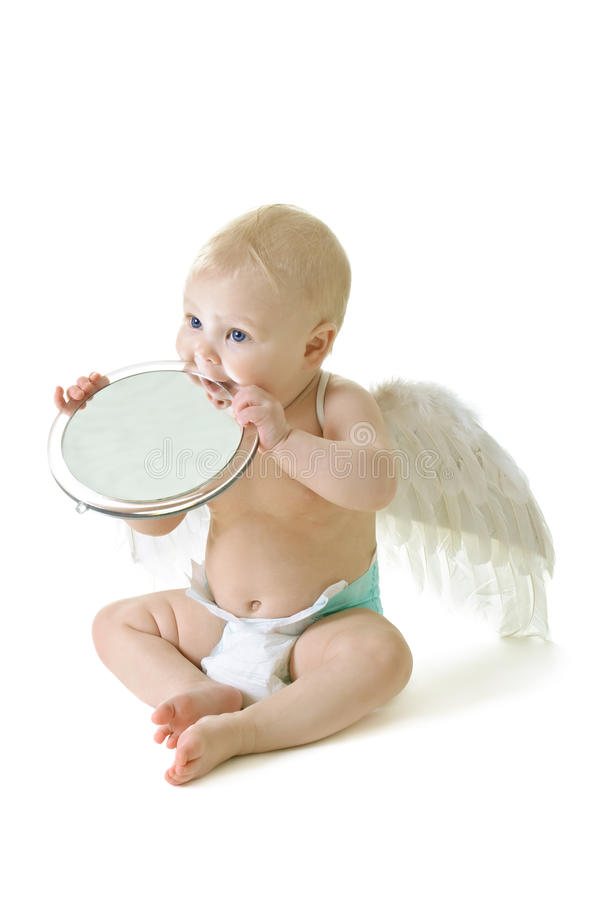 Download Angel baby stock photo. Image of beautiful, adorable - 18476288