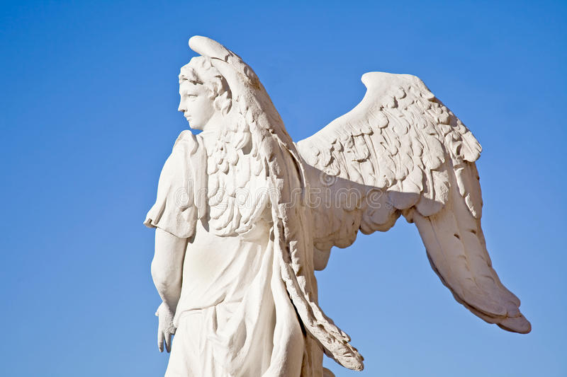 Download Angel on a background sky stock photo. Image of rarity - 26840846