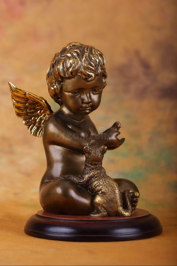 Angel boy stock photos