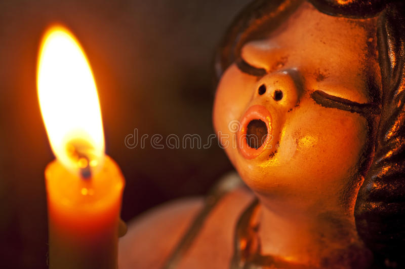 Download Angel With Candle Royalty Free Stock Photography - Image: 28478697
