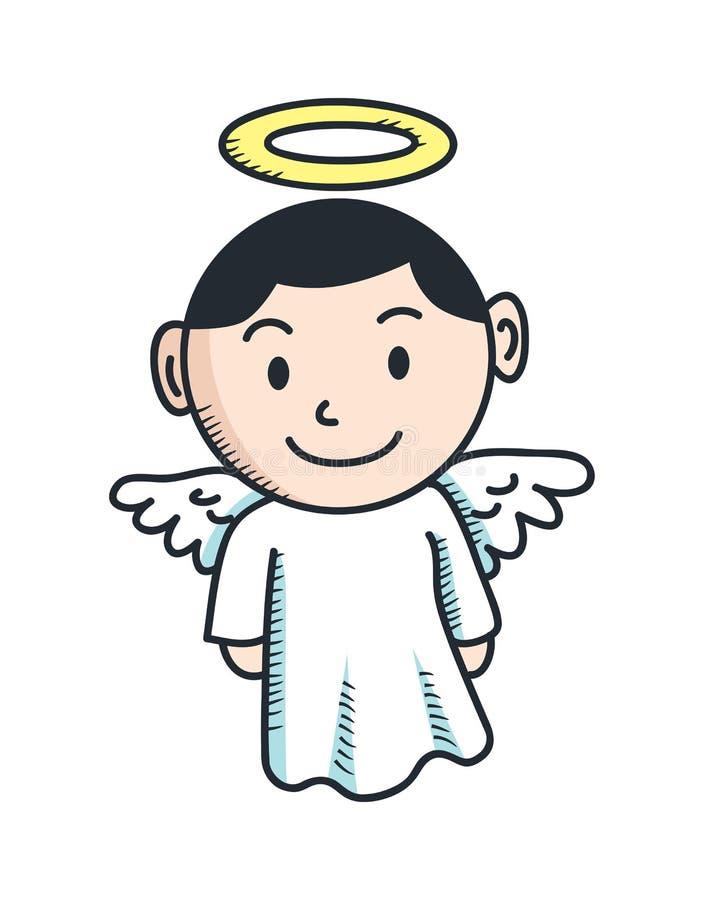 angel cartoon stock illustration illustration of greeting 29826757 rh dreamstime com cartoon angel images cartoon angel pictures clip art