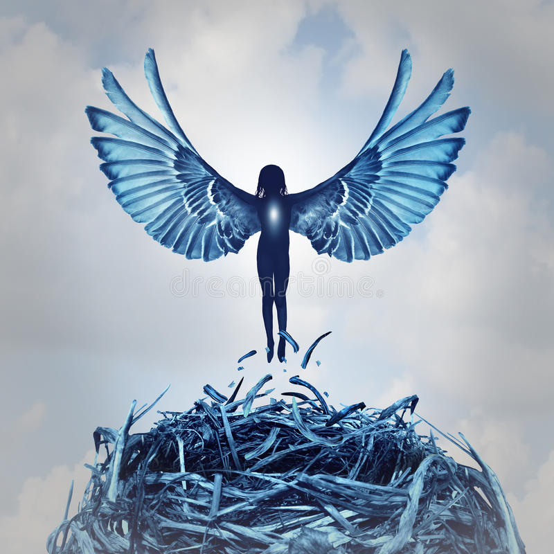 Angel Concept ilustração do vetor