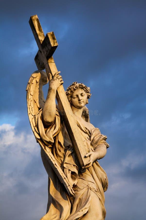 Angel Cross stock foto