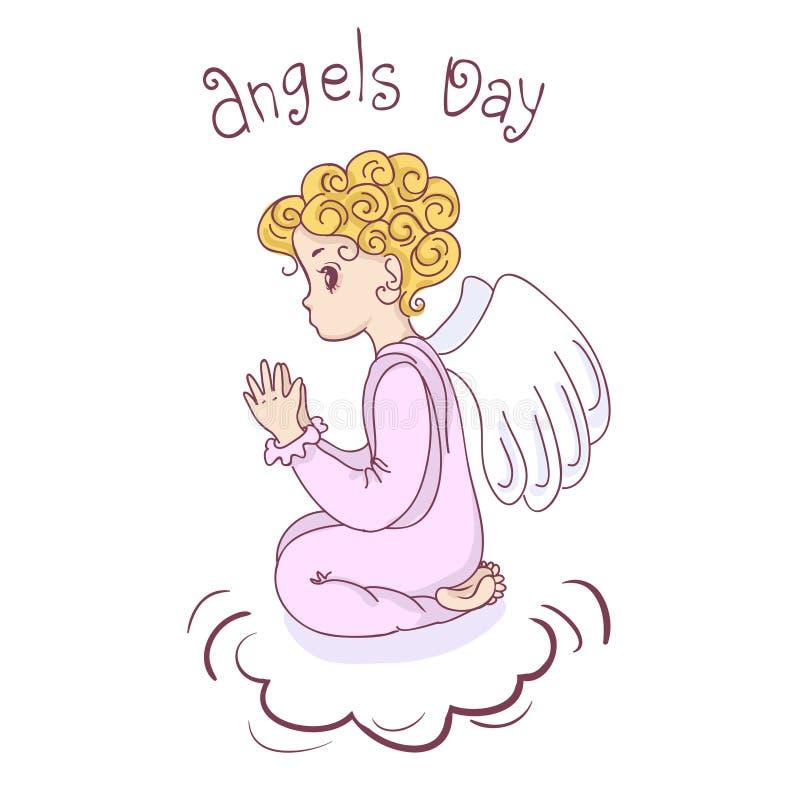 Download Angel Day stock illustratie. Illustratie bestaande uit illustratie - 54091557