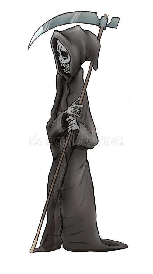 Angel of death royalty free illustration
