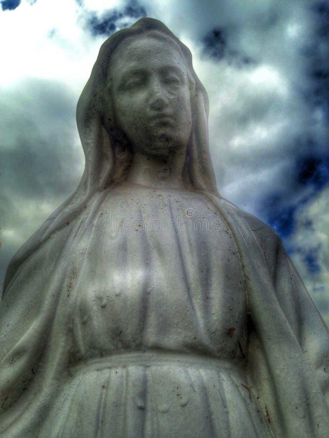 Angel Delaware Ohio-begraafplaats stock afbeeldingen